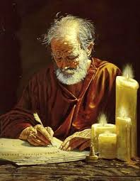 Paul writing timothy