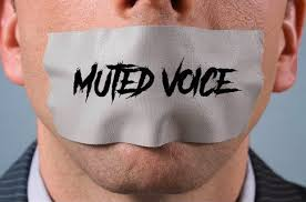 Muted voice